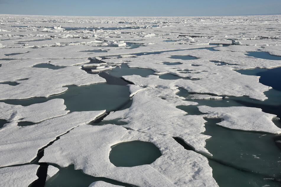 In der Arktis hat sich erstmalig ein großes Ozonloch gebildet. (Symbolbild)
