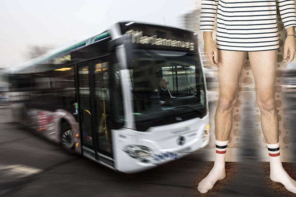 Busfahrer ohne Hose und mit über zwei Promille unterwegs