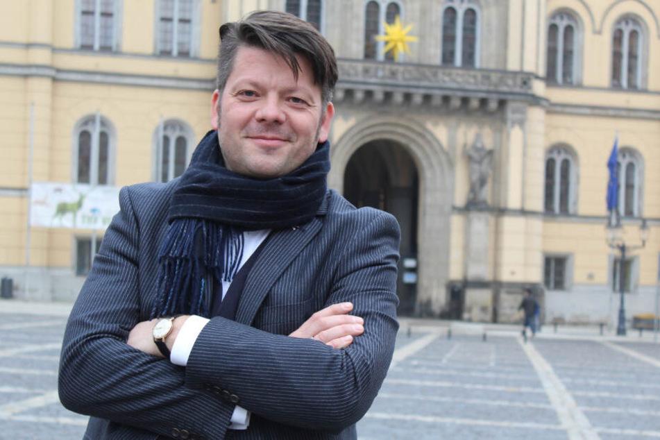 Der Zittauer Oberbürgermeister Thomas Zenker (44, Archivbild).