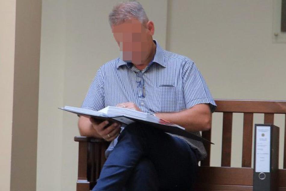 Der Chefermittler in der Lidl-Erpressung, Kurt H. (53), reiste extra aus Heilbronn an.