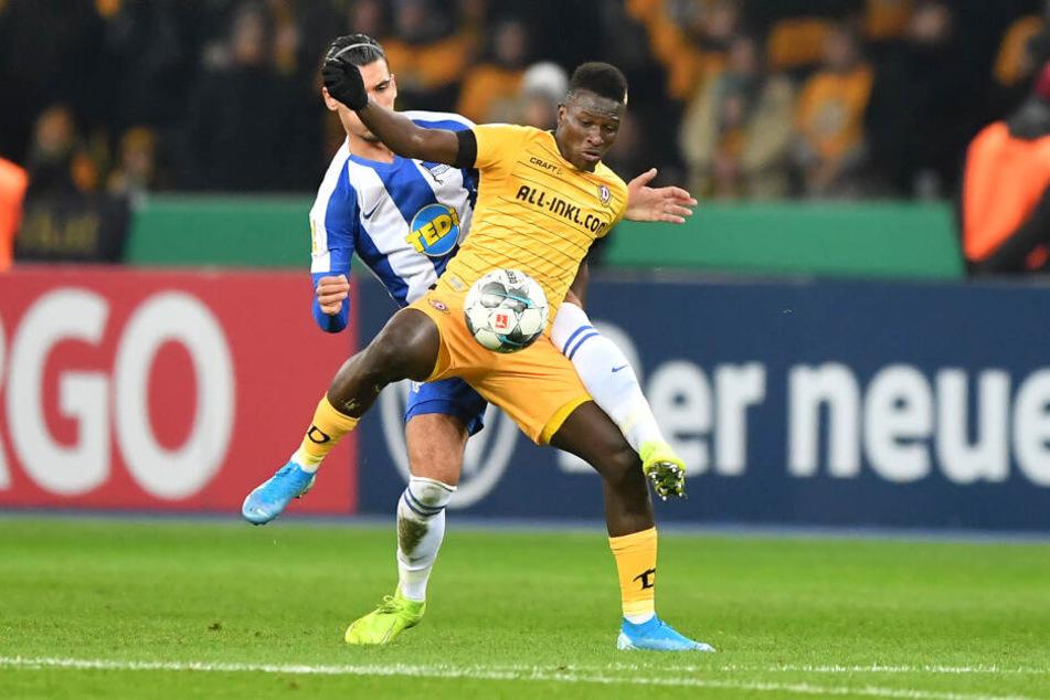 Traf im Spiel und per Elfmeter: Moussa Koné.