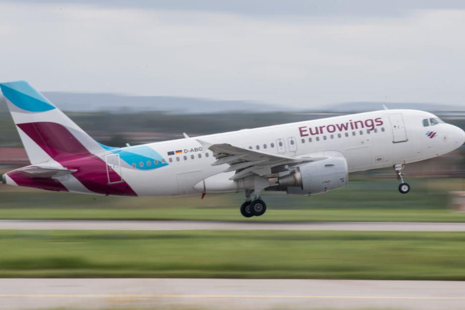 Eurowings hat verschiedene Direktflüge von Berlin-Tegel aus gestrichen.