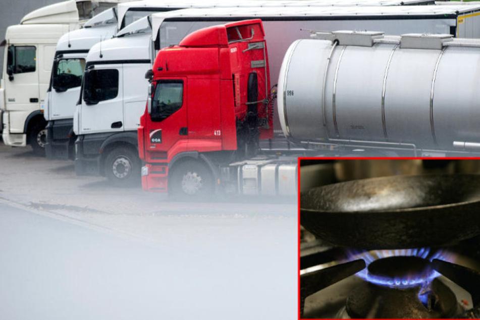 Wahrscheinlich starb der Trucker, weil er die giftigen Gase seines Kochers einatmete. (Bildmontage)
