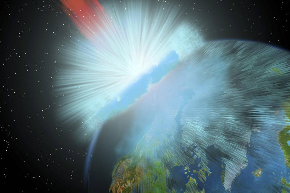 Würde ein riesiger Komet auf die Erde zurasen - die Menschheit hätte keine Chance, sich zu wehren.