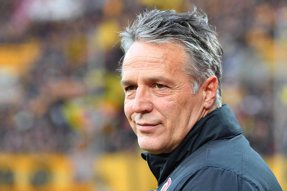 Dynamo-Coach Uwe Neuhaus.