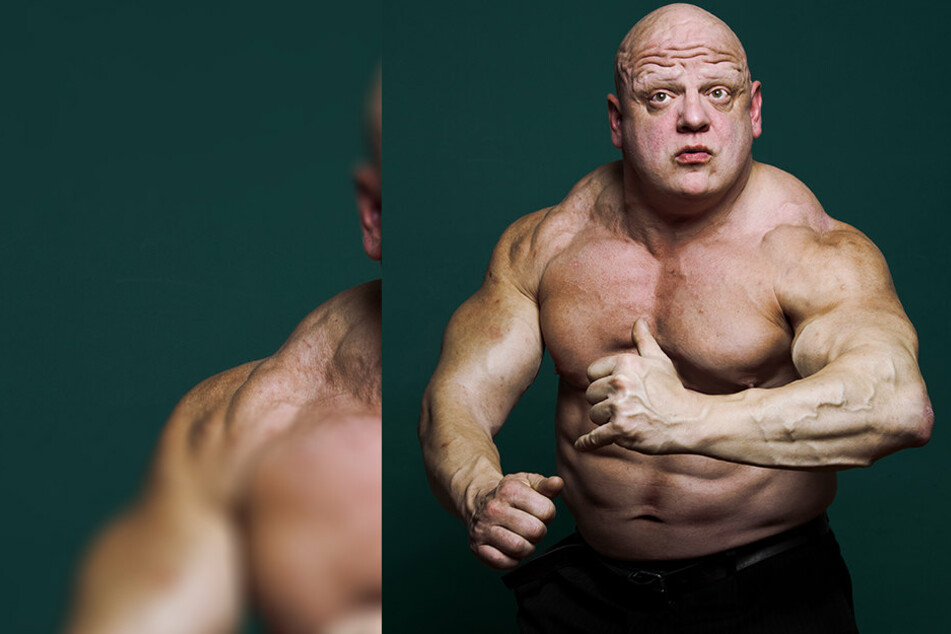 """Rummelsnuff"" Roger Baptist (50) hat ordentlich an Muskelmasse zugelegt."