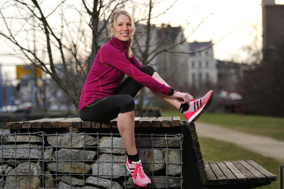 Theresa Rietzschel ist Vize-Meisterin im Cross-Triathlon und weiß, wie man richtig frühlingsfit wird.