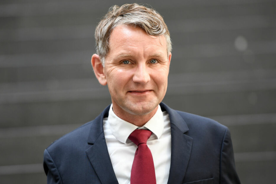 """Schimpfte beim """"Kyffhäusertreffen"""": Björn Höcke."""