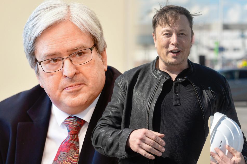 Elon Musk: Also doch! Tesla-Chef Elon Musk sprach mit Brandenburgs Wirtschaftsminister