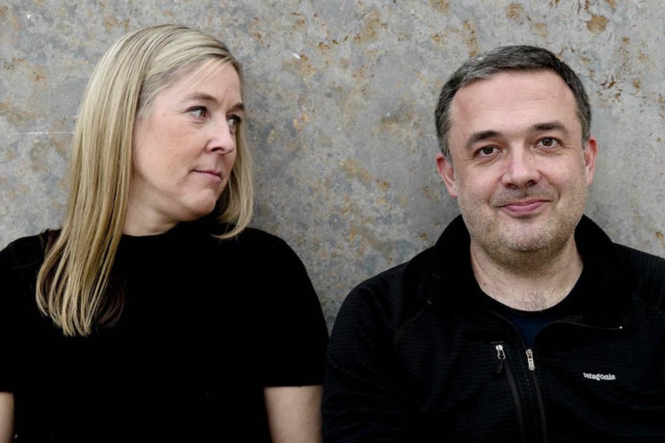 Die Sprecher des Chaos Computer Clubs, Constanze Kurz und Frank Rieger.
