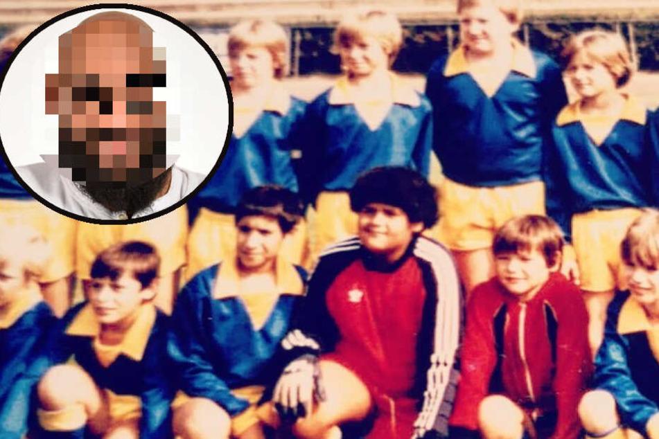 Wer isses? Rap-Legende postet Kicker-Foto aus der Kindheit