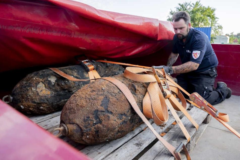 In Oranienburg wurden schon im Juni zwei Weltkriegsbomben entschärft.