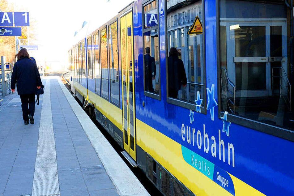 Die Eurobahn konnte dieses Mal nichts für den Zugausfall.