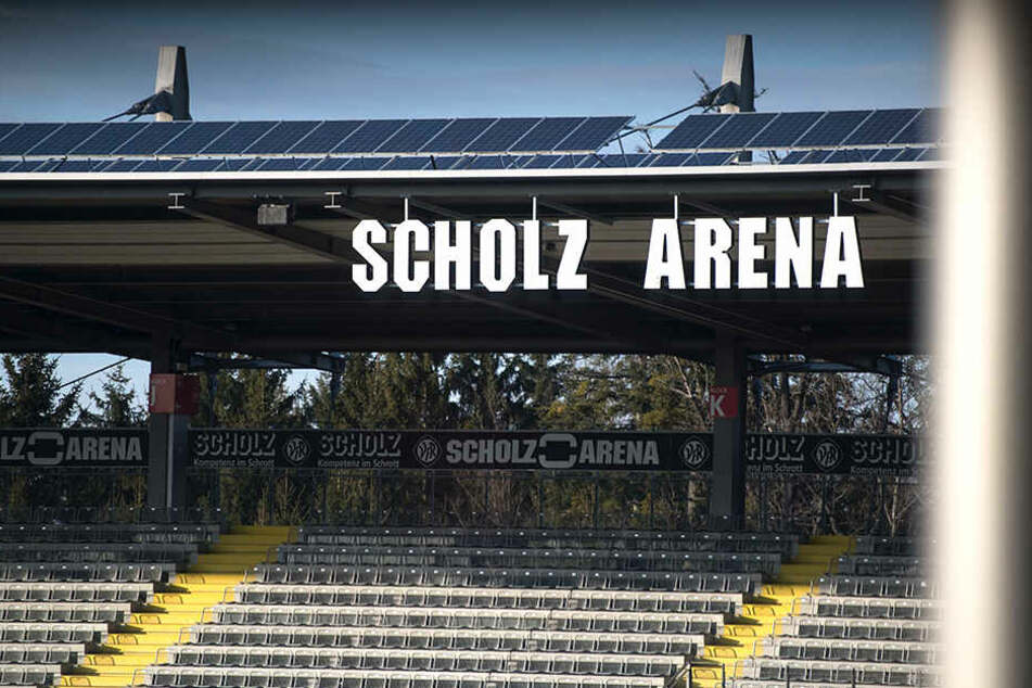 Die Scholz Arena, das Stadion der Aalener.