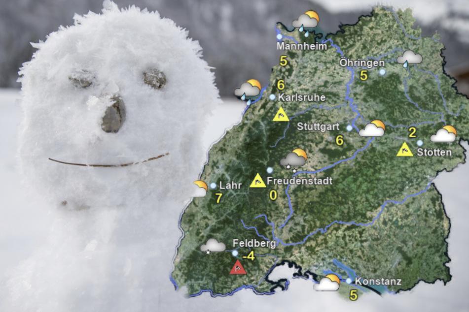 Frost- und Glättegefahr in Baden-Württemberg: Auch Schnee möglich
