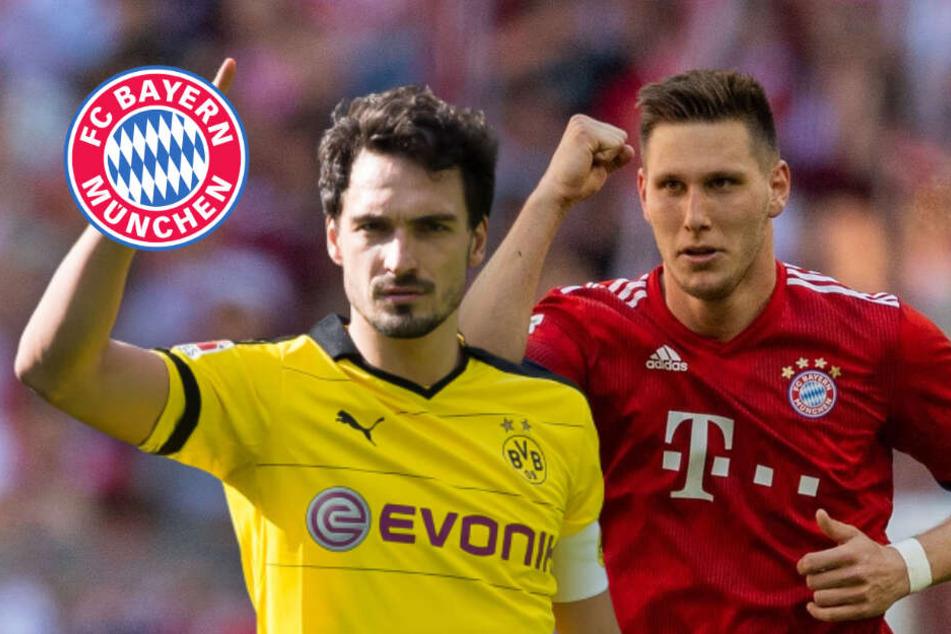 Duell mit Hummels: Bayern-Abwehrbulle Süle schaut auf BVB