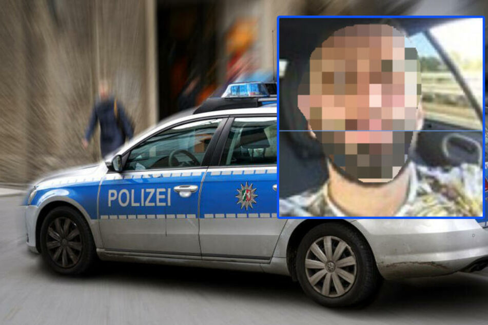Die Polizei sucht den Verdächtigen und bittet um Hinweise.