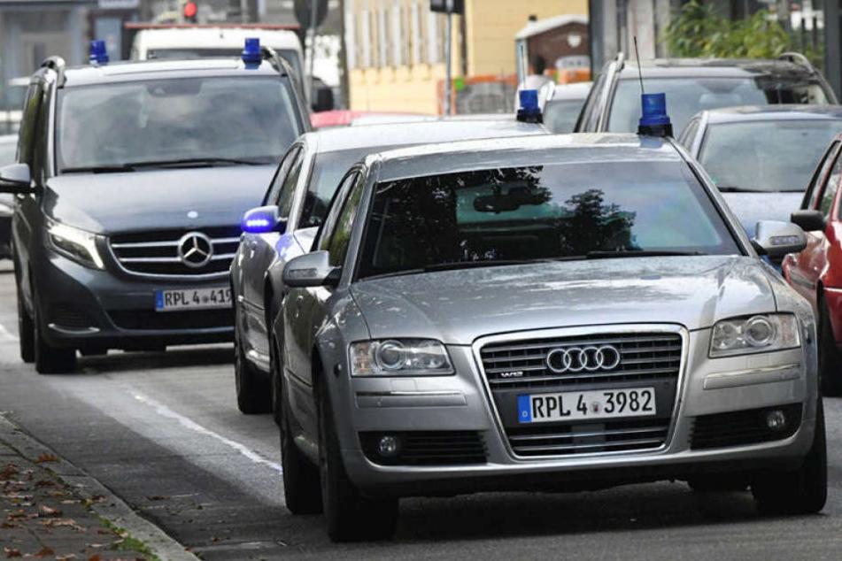 Khalil A. ist am Dienstag zum Bundesgerichtshof nach Karlsruhe gebracht worden.