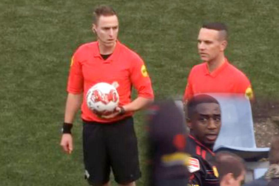 Rassismus beim Fußballspiel, dann sorgt Schiedsrichter für ein Novum