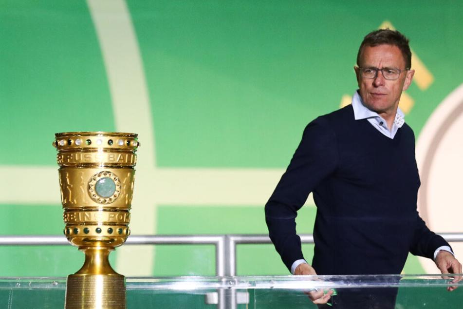 Am Dienstag soll sich die Zukunft von Ralf Rangnick bei RB Leipzig entscheiden.