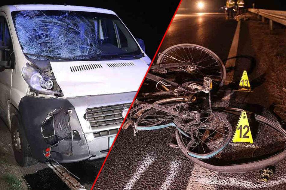 Tödlicher Unfall: Betrunkener Autofahrer überfährt Radfahrer auf S81
