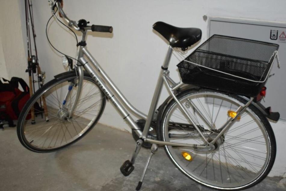 Dieses Fahrrad wurde nahe der Ostsee gefunden.