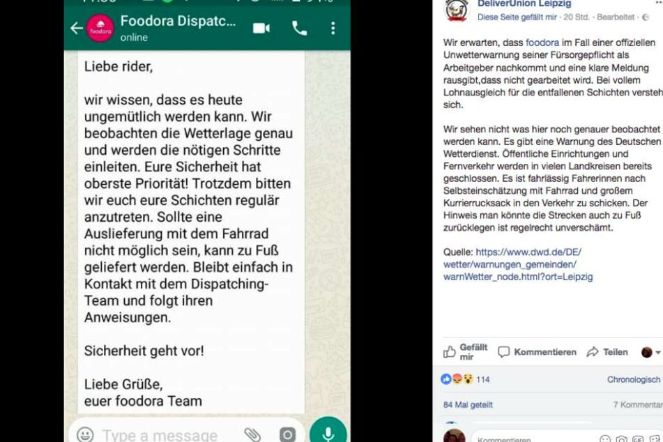 Diese Nachricht erzürnt die Gemüter der DeliverUnion Leipzig.