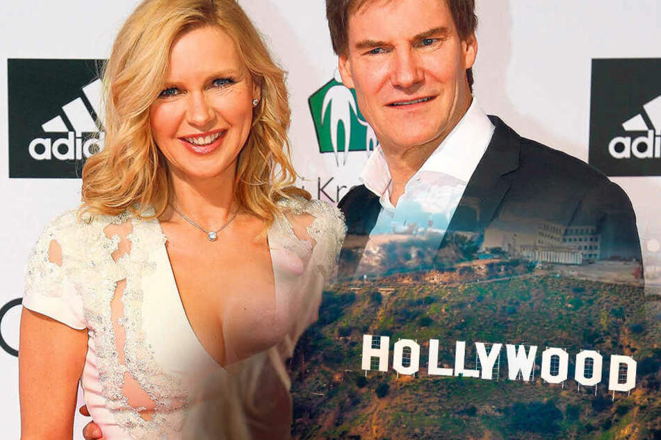 Veroncia Ferres (52) und Carsten Maschmeyer (58) pendeln zwischen ihren  Anwesen in München und Hollywood.