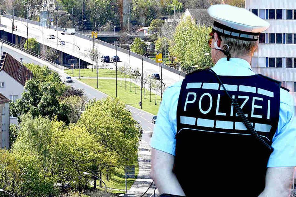 Auf der Budapester Straße in Dresden wurde eine 24 Jahre alte Frau betatscht.