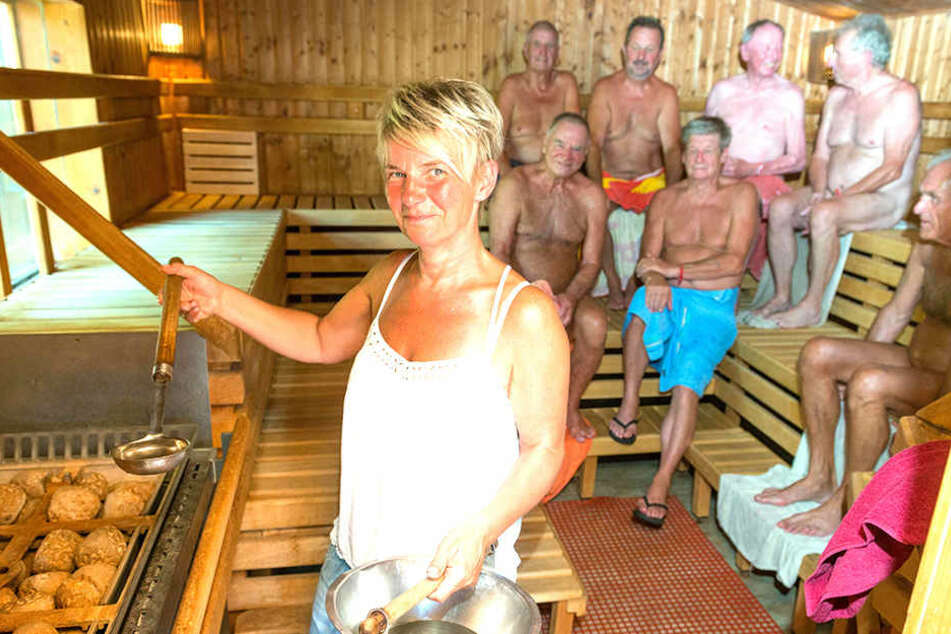 Wer geht bitte bei dieser Hitze noch in die Sauna?