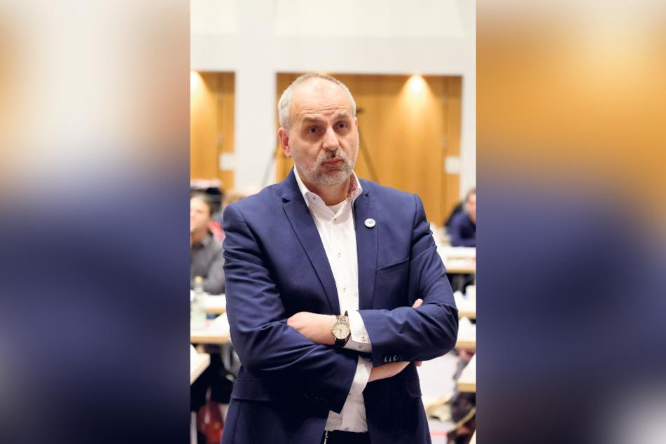Linke-Fraktions-Chef Rico Gebhardt (56) fordert mehr Mitsprache des Parlaments.
