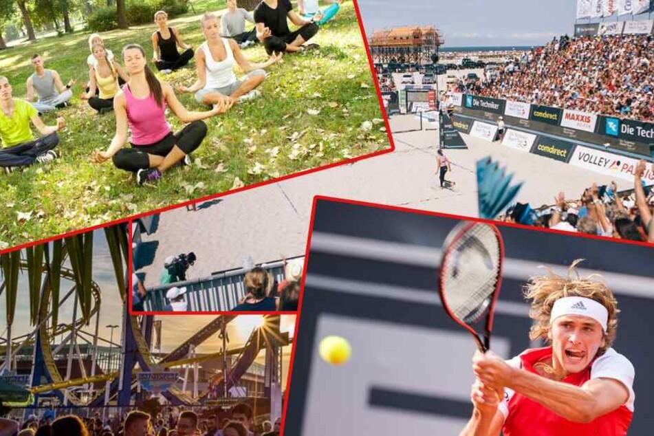 Tennis, Yoga oder Volleyball? Der Sonntag im Norden wird sportlich!