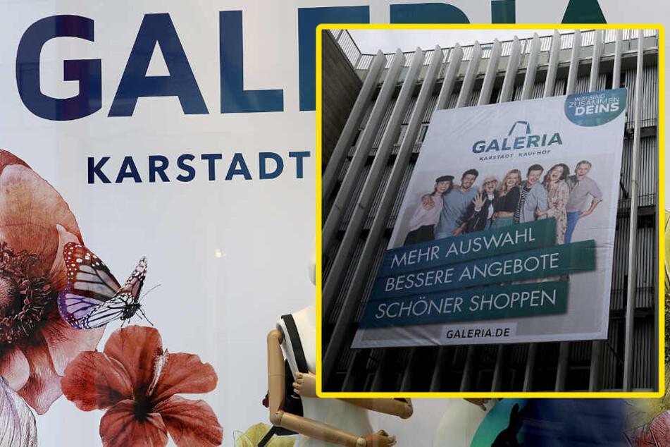 """Galeria Karstadt Kaufhof: Tausende Jobs in Gefahr, Werbung lobt """"endlich eins"""""""
