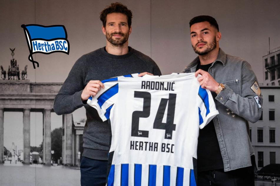 Hertha BSC bestätigt Wechsel von Flügelflitzer Nemanja Radonjic