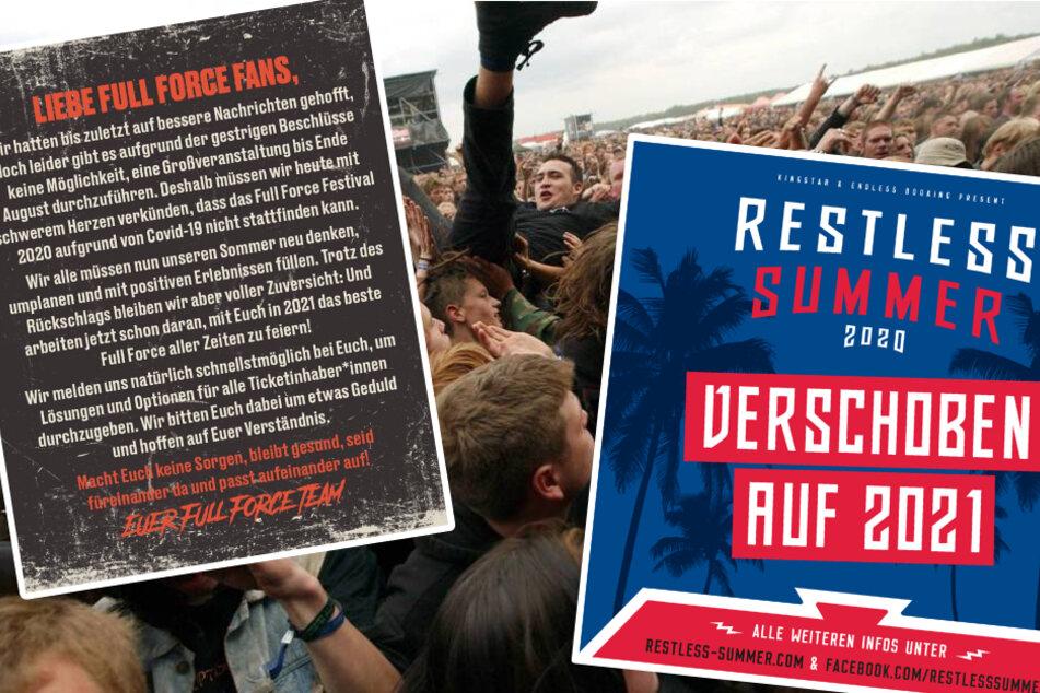 Leipzig: Auch Full Force und Restless Summer werden abgesagt