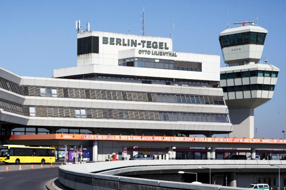 """Blick auf den Flughafen """"Otto Lilienthal"""" in Tegel. (Archivbild)"""