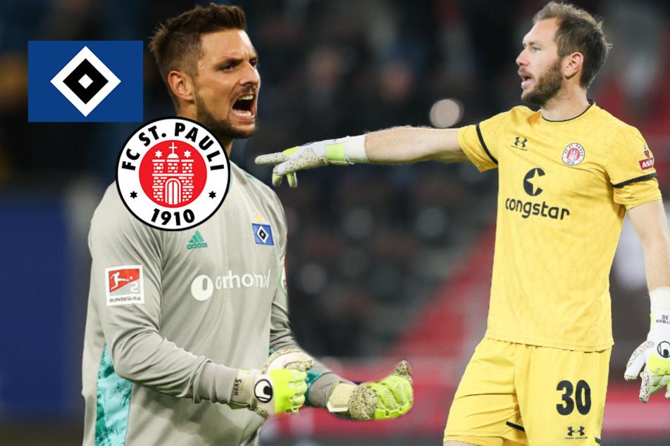 HSV- und St. Pauli-Keeper sorgen sich wegen Coronavirus um Profi-Fußball!