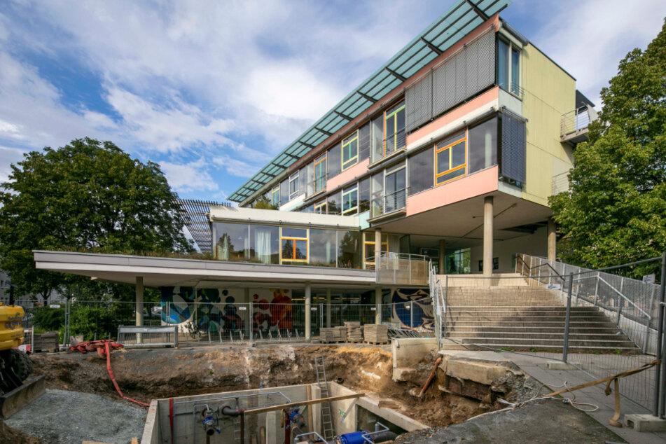 Das St.-Benno-Gymnasium in Dresden.