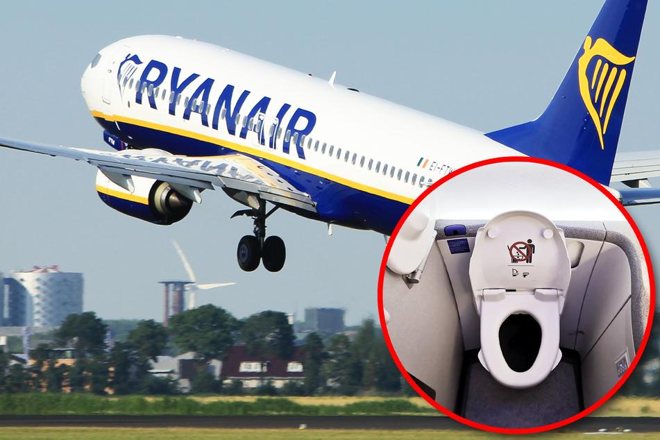 Bei Ryanair darf nicht mehr jeder auf Toilette!