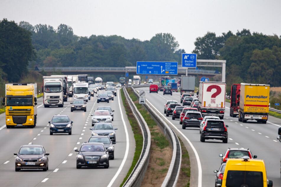 Baustellen-Chaos auf einer der meist befahrenen Straßen Deutschlands