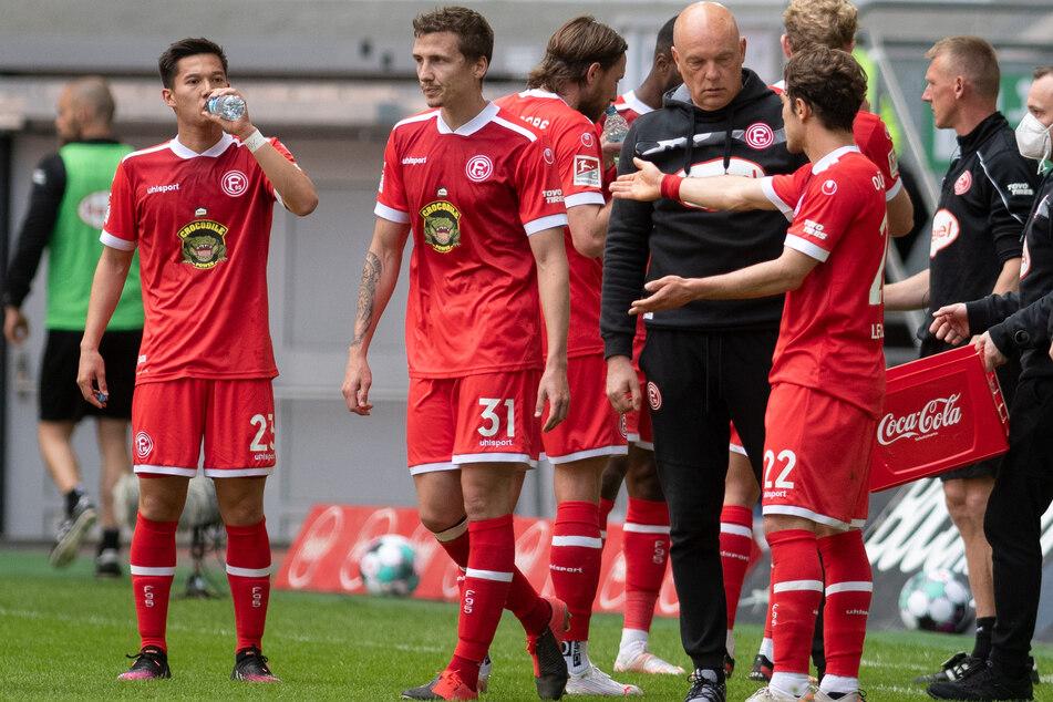 Obwohl Fortuna Düsseldorf gegen den FC Erzgebirge Aue gewonnen hat, haben sie keine Chance mehr auf eine Bundesliga-Rückkehr.