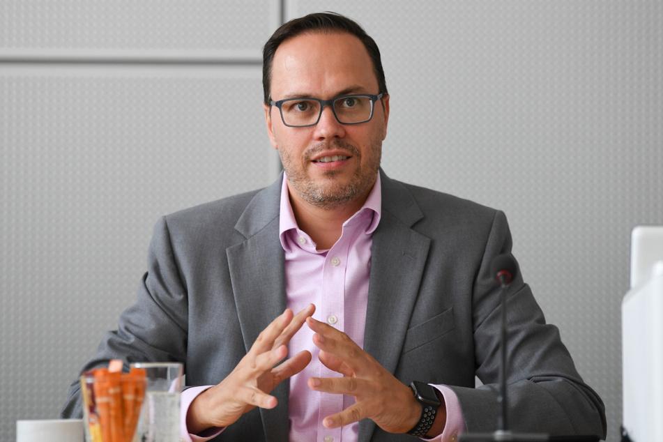 Dirk Panter, Vorsitzender der SPD-Fraktion im Sächsischen Landtag.