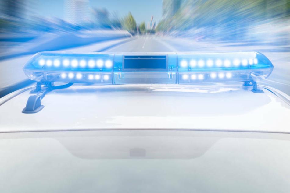 Als die Polizei zu dem BMW aufgeschlossen hatte, ging der Fahrer plötzlich in die Eisen und nahm die Ausfahrt.