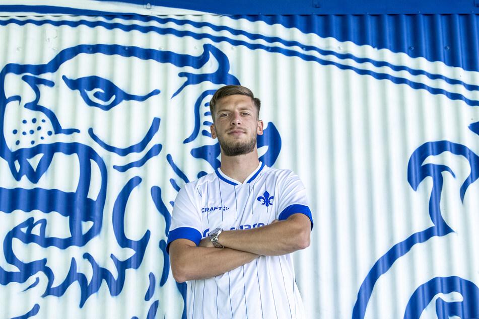 Nemanja Celic (22) unterschrieb am Montag einen Dreijahresvertrag beim SV Darmstadt 98.