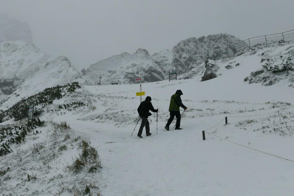 Wintereinbruch in Bayern: Schnee ab 1000 Metern