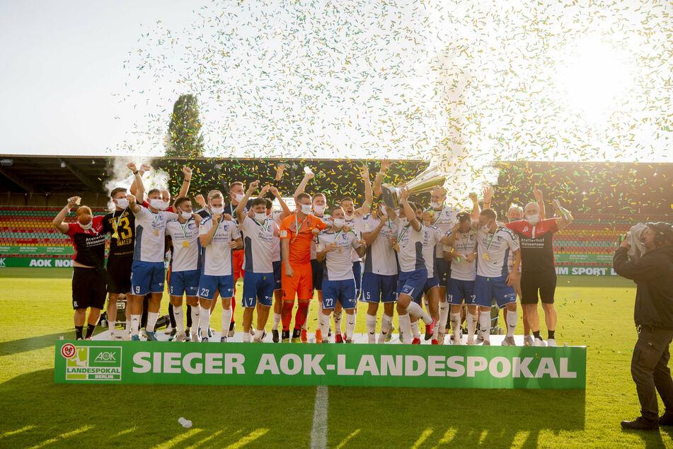 Als Sieger des Berliner Landespokals tritt die VSG nun erstmals im DFB-Pokal an.
