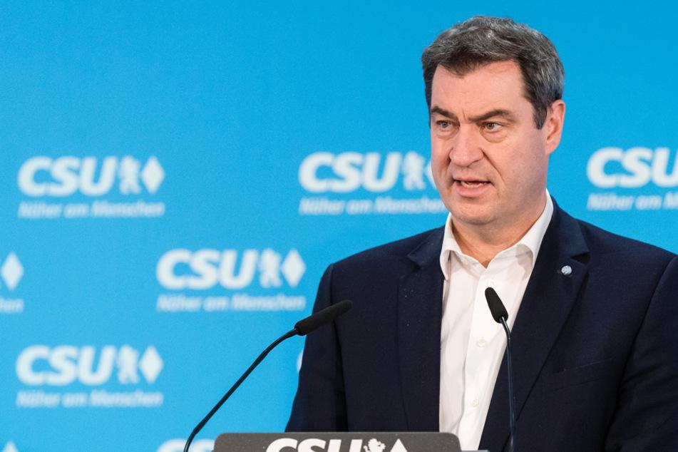 Innenminister Söder bereitet die Bayern auf noch längere Maßnahmen vor. (Archiv)