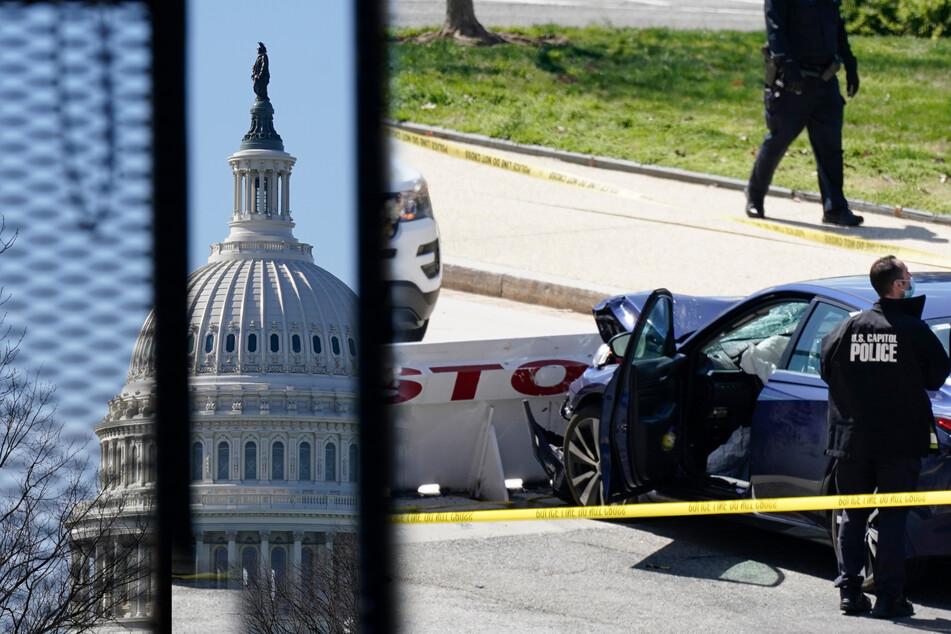 Neuer Angriff aufs Kapitol: Mann rast in Polizisten, tötet einen von ihnen, wird erschossen!