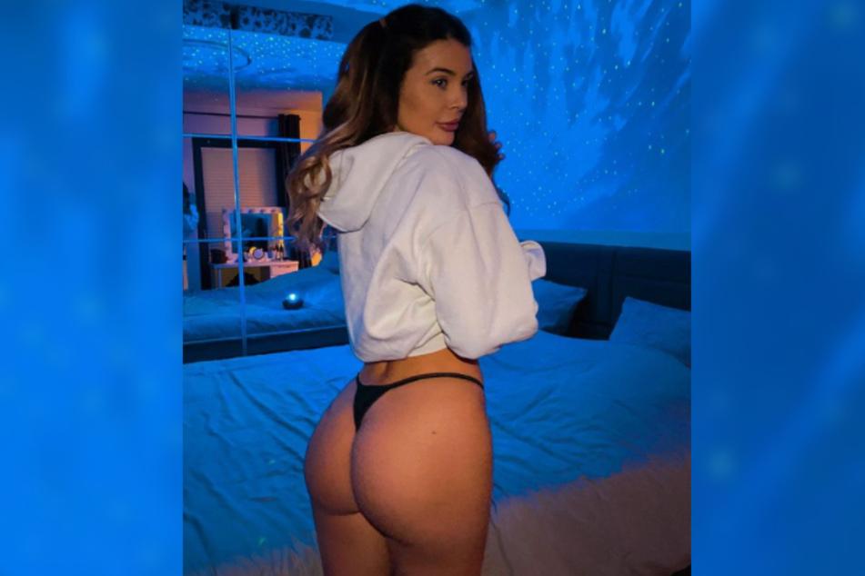 """Lisa Del Piero (24) nahm 2014 mit zarter Figur an """"Germanys Next Topmodel"""" teil. Inzwischen präsentiert sie ihren neuen, sexy Körper auf Instagram - mit Vorliebe ihren Po."""