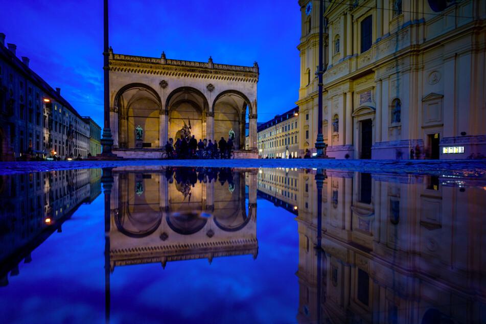 2000 Besucher werden sich vor der Feldherrnhalle am Münchner Odeonsplatz versammeln dürfen.